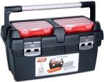 Ящик для инструментов, поддон + органайзер + 2 съемных органайзера в крышке №600-E, TAYG, 168000