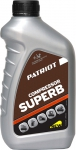 Масло компрессорное 1 л, COMPRESSOR OIL GTD, PATRIOT, 850030600